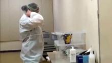 პირველად - შიდა კადრები კლინიკიდან  როგორ მუშაობენ საგანგებო პირობებში ექიმები